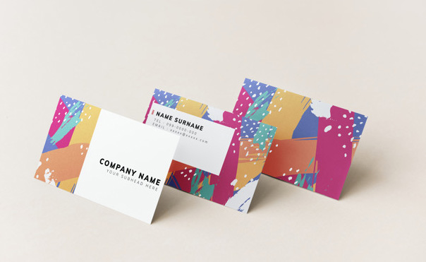 Mẫu name card nhiều màu sắc